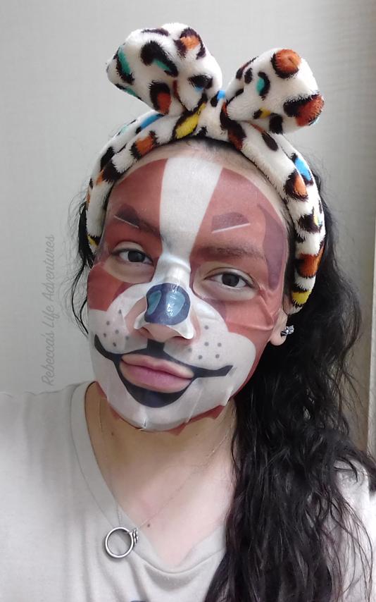 My Real Pet Mask-Beagle Wearking Mask