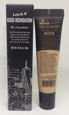 bb+ foundation box and bottle back